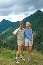Ann and Jon in New Guinea