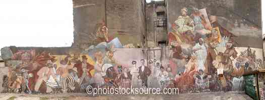 Photo of Ave Independencia Mural
