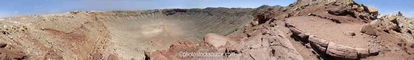 Photo of Meteor Crater West Viewpoint