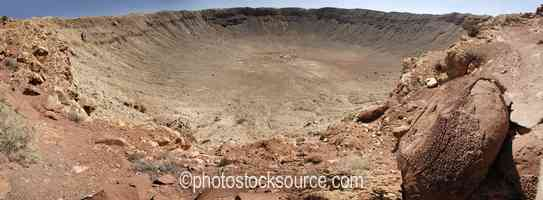 Photo of Meteor Crater Overlook