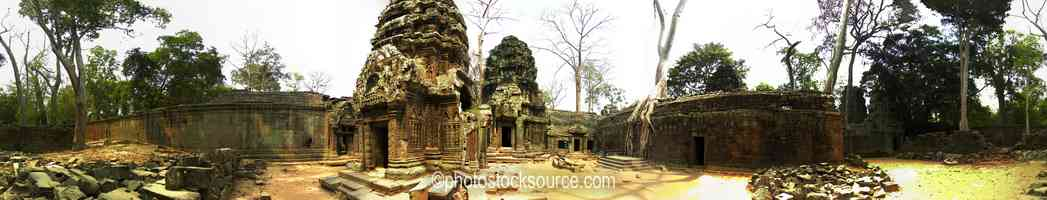 Photo of Ta Prohm East Courtyard