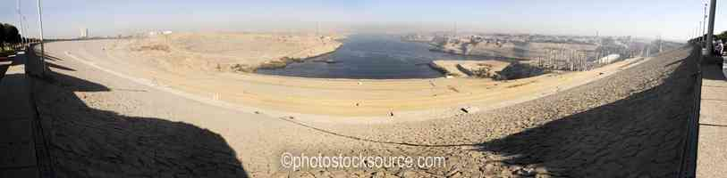 Photo of North From High Aswan Dam