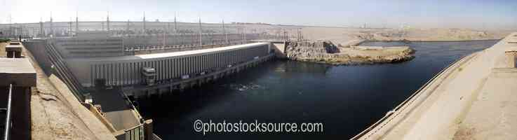 Photo of Aswan High Dam Outflow