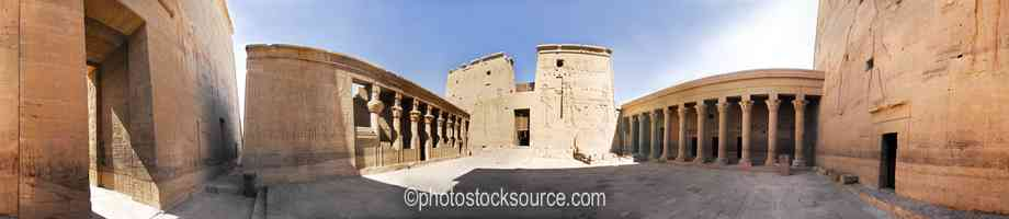 Photo of Philae Temple East Courtyard