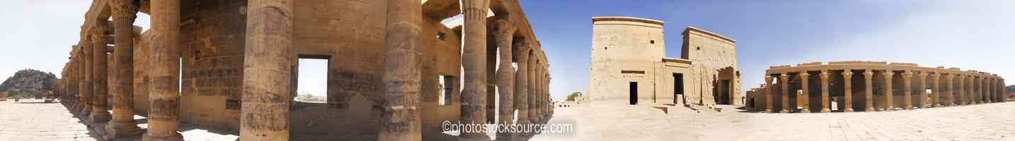 Photo of Philae Temple First Pylon