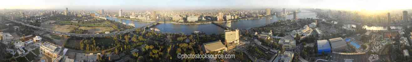 Photo of Cairo and Nile River