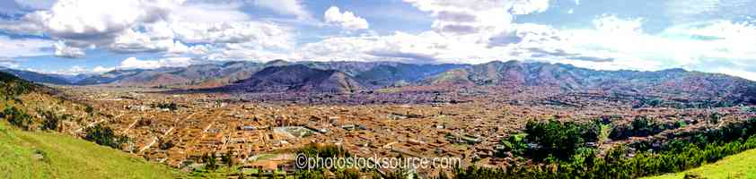 Photo of Cusco from Sacsayhuaman