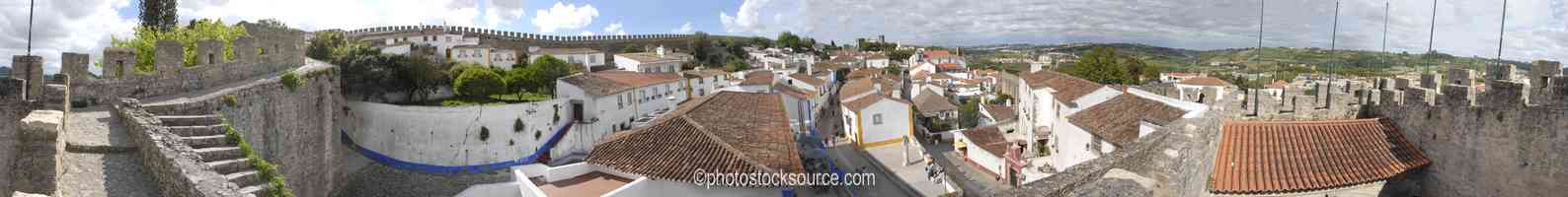 Photo of From Obidos East Wall