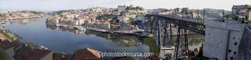Photo of Oporto From Bridge Morning