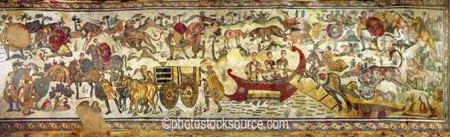 Photo of Great Hunting Scene Mosaic