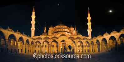 Photo of Blue Mosque Courtyard